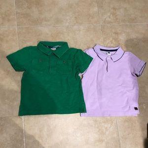 Janie & Jack and Gymboree polo shirts
